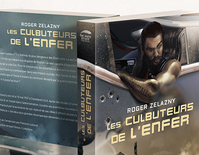 LES CULBUTEURS DE L'ENFER - Cover design