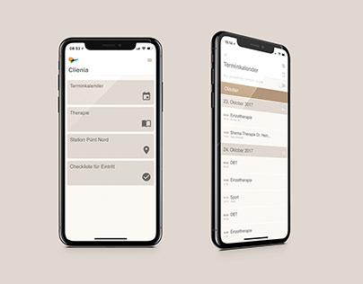 Clienia // App UI Design