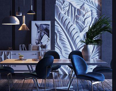 Dining room .. Black