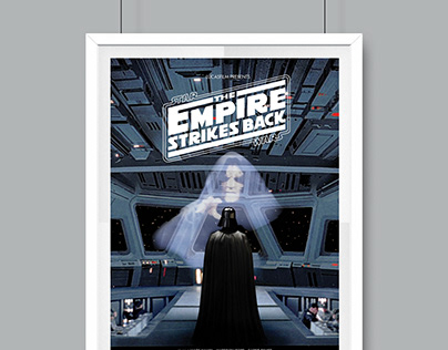 Star Wars: The Empire Strikes Back | Poster Redesign
