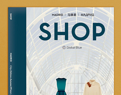 SHOP Magazine covers
