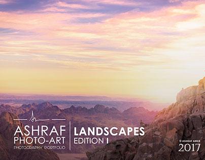 Photography portfolio 2017 | Landscapes Edition I