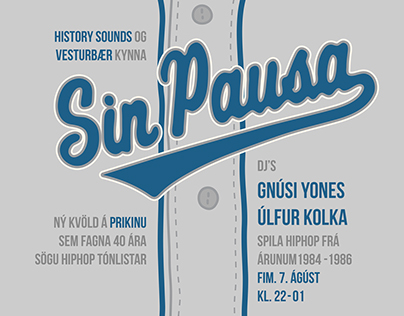 Sin Pausa Posters