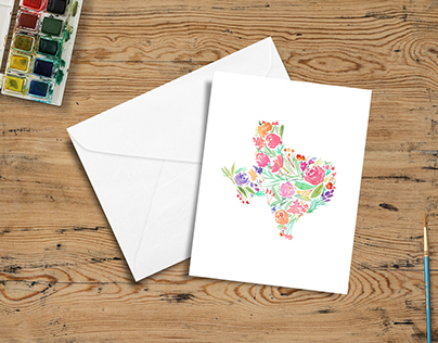 Texas in Bloom greeting cards