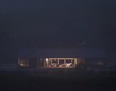 Malalcahuello Cabin CGI