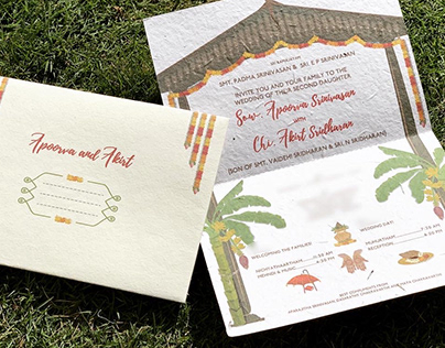 Wedding Invite   Apoorva and Akirt