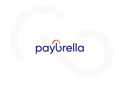 """Logo for """"Paybrella"""" Umbrella Company"""