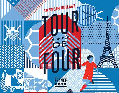 WWC 2019 Tour De Four