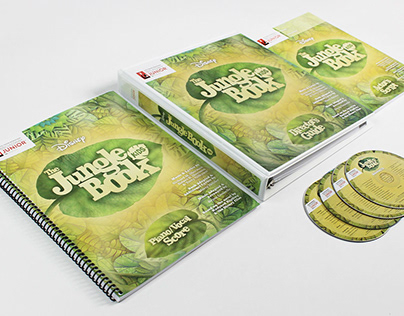 The Jungle Book KIDS Branding
