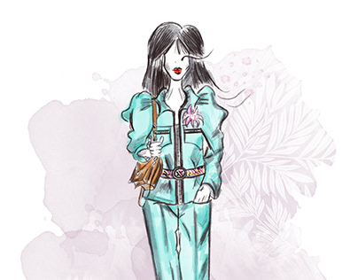 Стилизация/Louis Vuitton весна-лето 2020