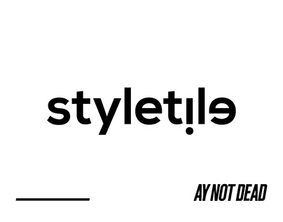 Styletile inspirational. Fashion brand Ay Not Dead