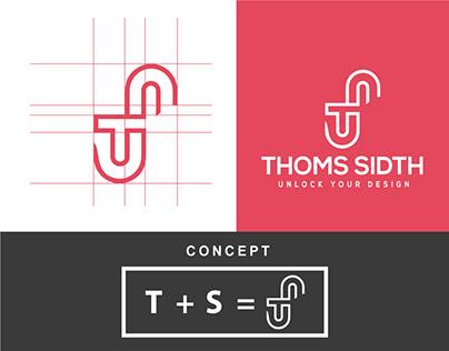TS letter logo