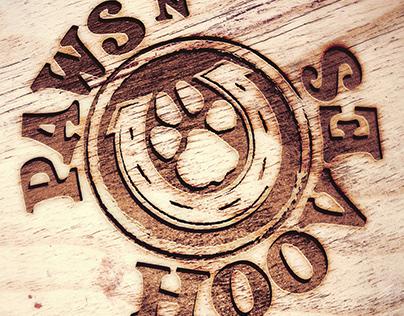 Logo Design | Pets n' Hooves pet sanctuary