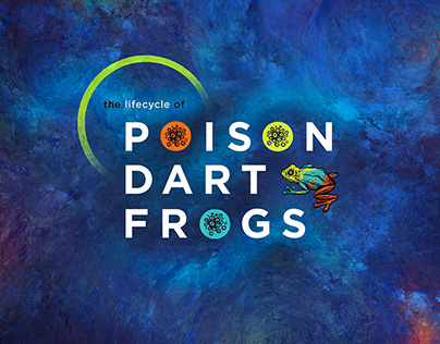 Poison Dart Frog Lifecycle Science Exhibit