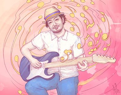"""""""Half Life"""" - Kouji Kondou (album illustration)"""