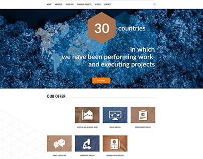 KGHM CUPRUM /website design