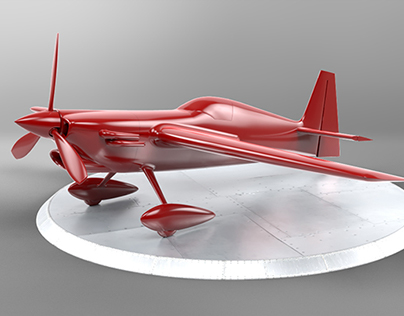 Extra 300 | Nurbs modeling