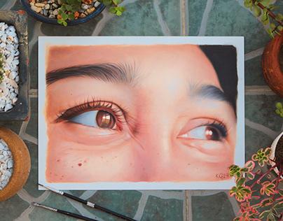 """""""Pekas"""" Oil Painting"""