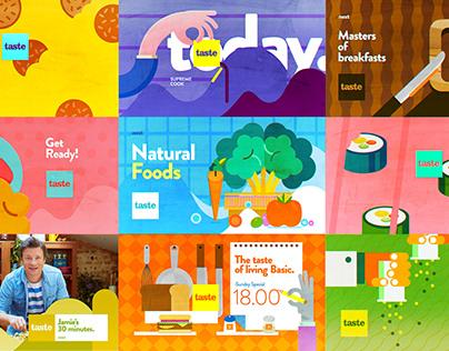 Taste channel design for Fox