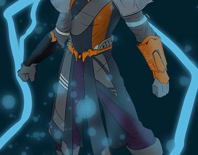 JOE - Warlock - custom character - Destiny 2