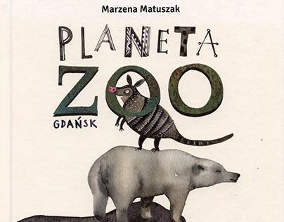 illustrations for the book Planeta Zoo