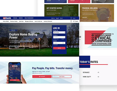 US BANK REDESIGN CONCEPT.