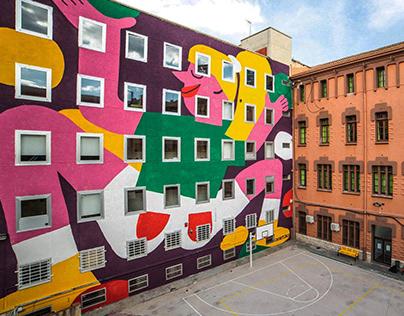 Mural painting, Tarragona ES