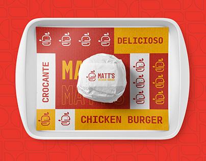 Matt's Burger - Design (Logo/Identity)