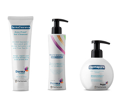 Derma Consultants - Brand Identity and Package Design