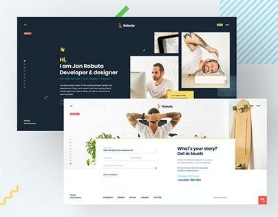 Robuta - Personal Onepage HTML Template