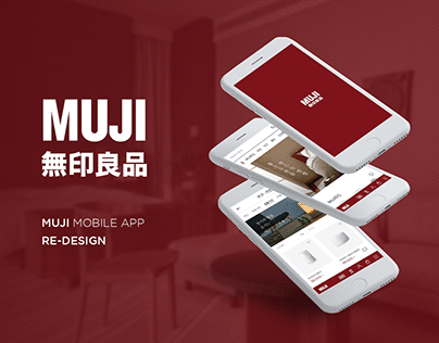 MUJI mobile App Redesign / mobile UXUI