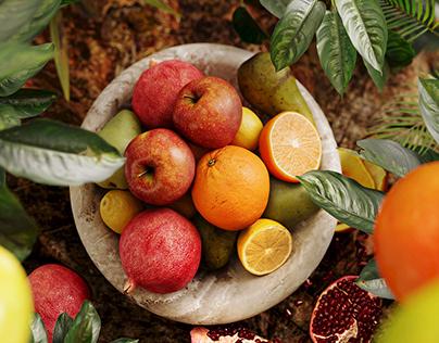 Tropical Fruits CGI #3dtastychallenge
