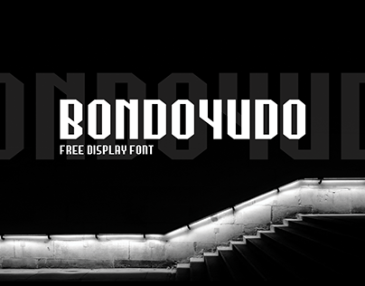 Bondoyudo - Free Display Font