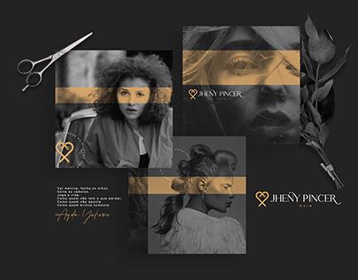 Jheny Pincer - Visual Identity