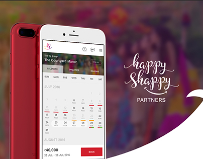 Happy Shappy - Offline booking calendar for Vendors