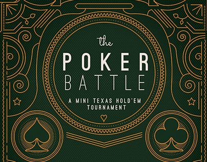 Flyer - Poster: The Poker Battle