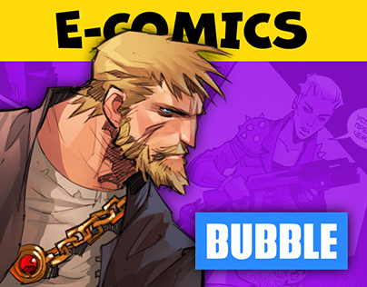 BUBBLE Club - comic book reader and community hub