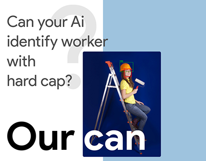 Can your Ai identify worker with hard cap?