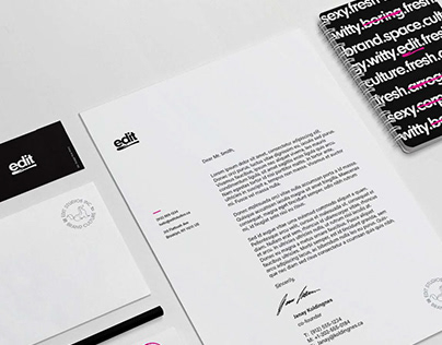 Edit Studios Brand Identity