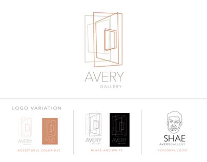 Avery Gallery Rebrand