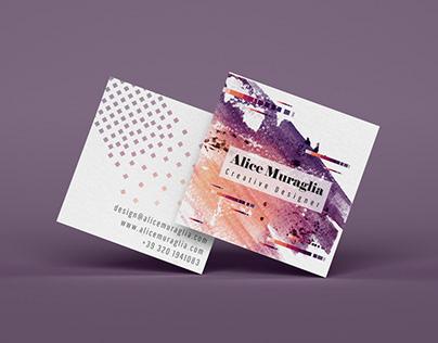 Alice Muraglia design Logo