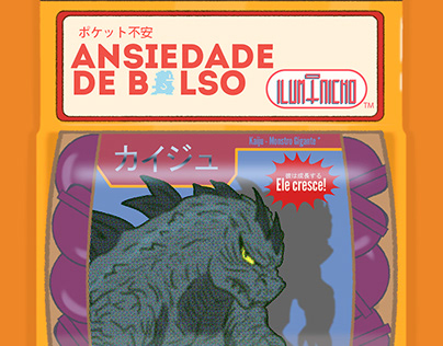 Graphic Novel - Ansiedade de Bolso