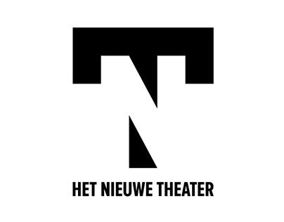 Identity / branding / logo design 'Het Nieuwe Theater'