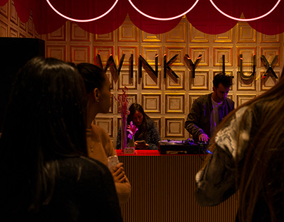 Grand Opening Winky Lux New York