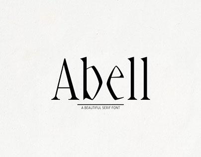 Free Abell Serif Font