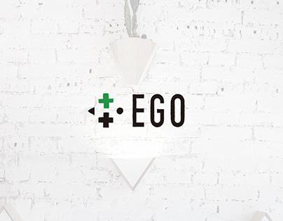 EGO bio store | visual identity