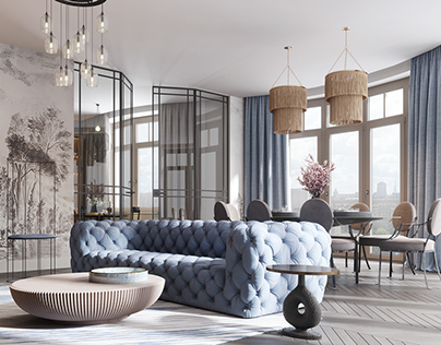 "Apartment project ""Trubetskaya"""