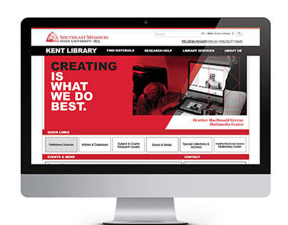 Kent Library Website Redesign