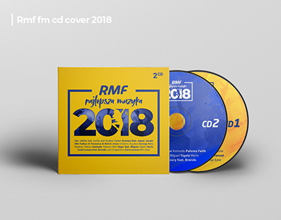 CD album cover - RMF Najlepsza Muzyka 2018