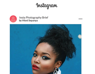 Instagram Curation and Content Photography